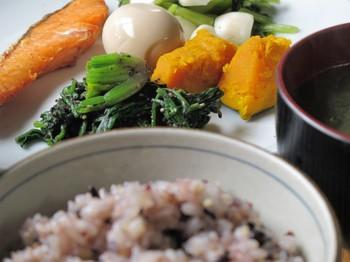 食材は、5つの色をバランスよく!