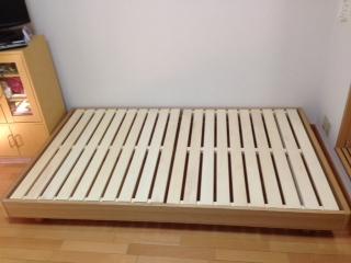 ベッドの高さ調整