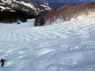 春スキー in ハチ北