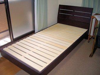 ベッド納品