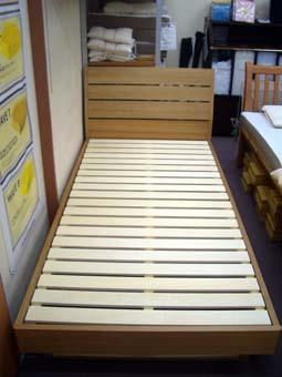 新ベッド投入