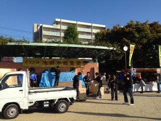 池田市商業祭開催中ですよ