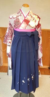 ジュニア用袴のコーディネート