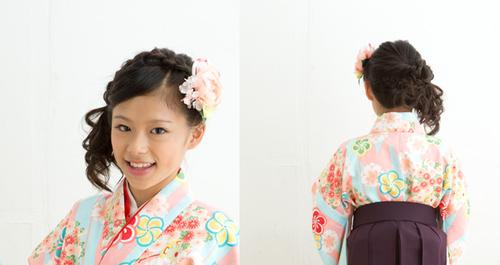 式 髪型 卒業 袴