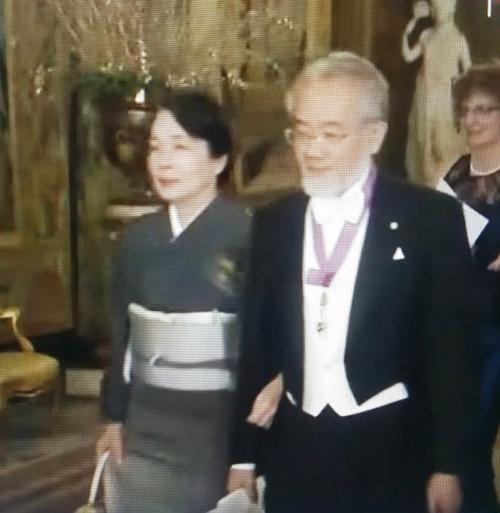 ノーベル賞授与式と晩餐会での着物 2016