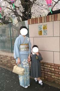入学式も着物
