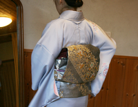 入学式、卒業式で着る着物のコーディネート