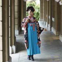 小学校の卒業式に袴スタイルが流行ってる?
