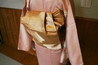 入学式で着る着物のちょっと変わった帯結