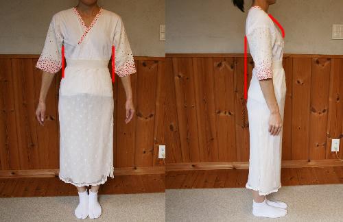 簡単に着物を着たい!きもの着付けレッスン ~補正着作り~