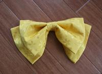 袴の髪飾りリボンを手作りしました!