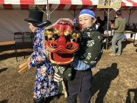 吹田万博公園ニューイヤーイベントに参加しました