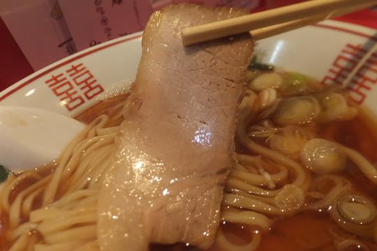 西長堀 「カドヤ食堂」 スペシャルな限定の新麦焼き干し醤油そば!