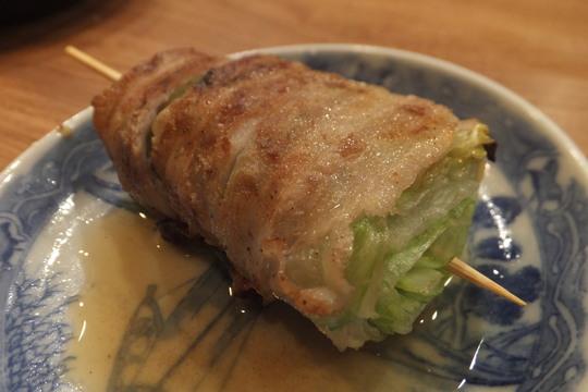 なんば 「なるとや」 博多名物野菜串巻きが旨い~!