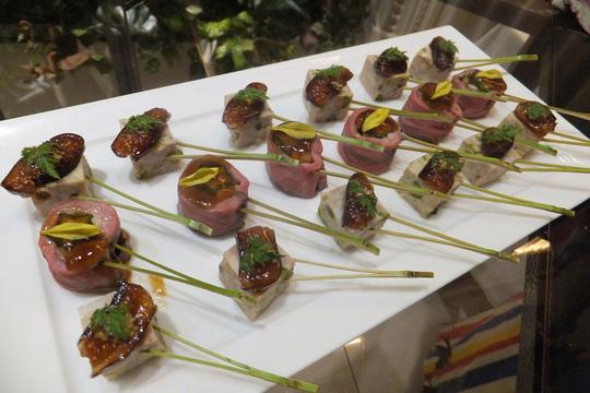 京橋・OBP 「ホテルモントレー ラ・スール」 やなもり農園天神祭花火パーティー2014!