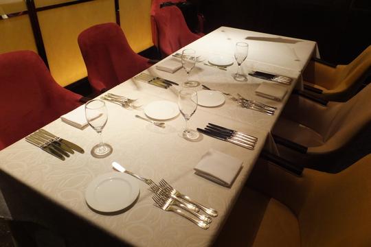 梅田 「キハチ」 閉店の前に記念にディナーを頂きました!