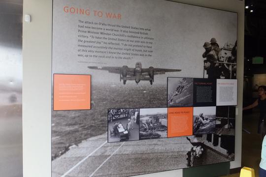 パールハーバー 「アリゾナ博物館」 ハワイ珍道中14 パールハーバーにあるアリゾナ博物館!