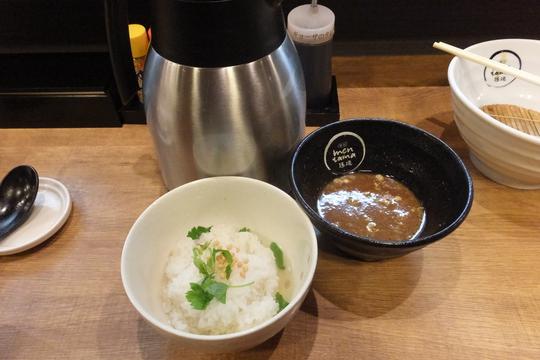 吹田・江坂 「麺創 麺魂(めんたま)」 つけ麺と〆雑炊で満足!