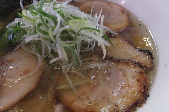 堺・中百舌鳥 「べらしお」 大阪好っきゃ麺4 第1弾 あぶりちゃーしゅーめん(塩)!