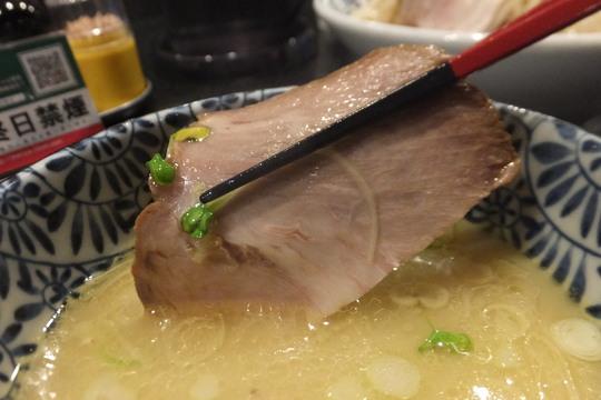 四ツ橋・新町 「ラーメン而今(Zikon)」 昆布水を加えるとまた味が変わる塩つけ麺!