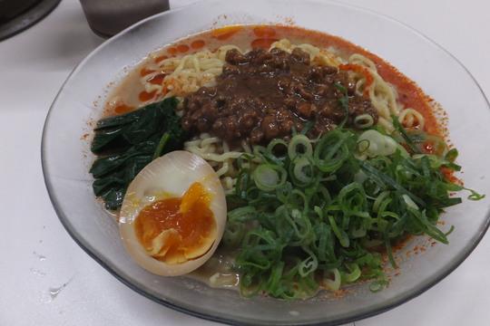 針中野 「担々麺 信玄」 大阪好っきゃ麺5 第13弾 ピリ辛冷やし白ごま担々麺!