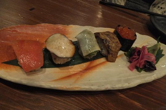 福島 「焼野菜 菜の音(なのね)」 名物野菜のお寿司が旨い!