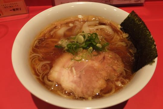 西長堀 「カドヤ食堂」 2017年の食べ始めは大好きな中華そばで!