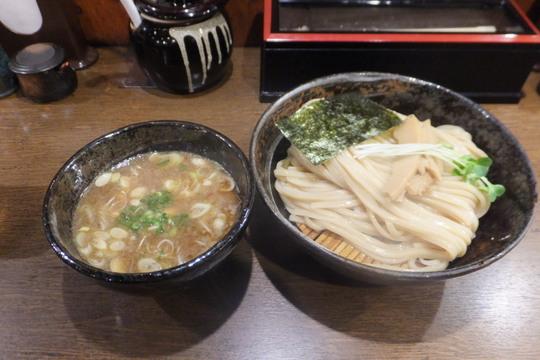 十三 「よかにせ」 極太麺で頂く濃厚魚介つけ麺!