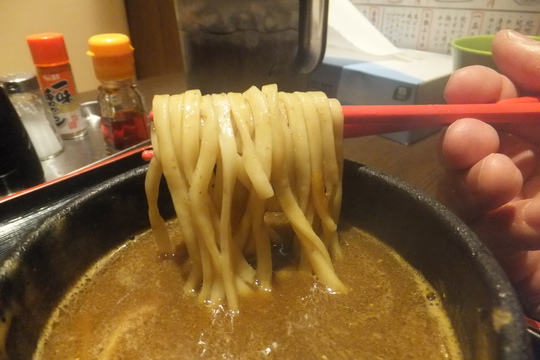 吹田・江坂 「三麺流武者麺」 関西らぁ祭1 魚介の味がガツンとくるつけ麺!