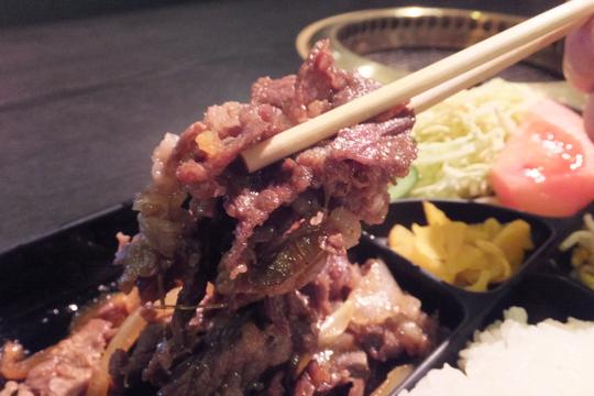 吹田・江坂 「豊味園」 老舗の焼肉店で手軽に頂く焼肉定食!