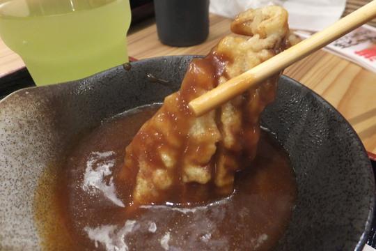 梅田 「てつたろう」 好きな天ぷらが好きなだけ乗せ放題の豪快な天丼ランチ!