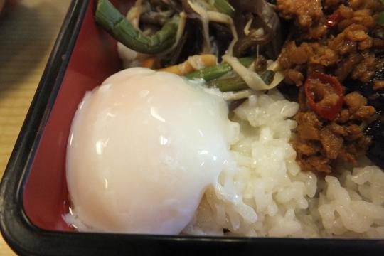 吹田・江坂 「華いかだ」 お値打ちで旨い茄子肉みそ重!