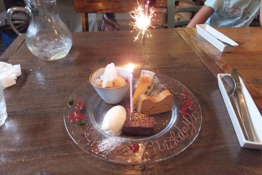 中崎町 「イタリカ(ITALLICA)」 誕生日を大好きなお店で嫁と娘に祝って頂きました!