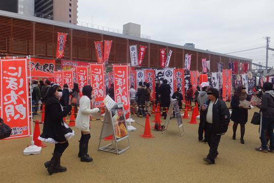 西梅田スクエア 「らーめん戦国時代 ~大阪駅前の陣2015~」