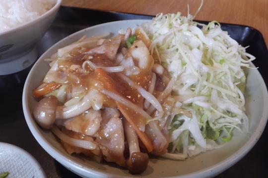 吹田・江坂 「よし多″」 和風の餡かけ風豚の生姜焼き定食が旨い!
