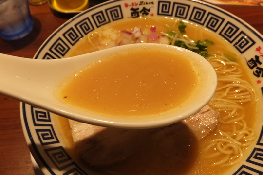 四ツ橋・新町 「ラーメン而今(Zikon)」 たまり醤油の極み煮干しそばがコクがありメッチャ旨い!