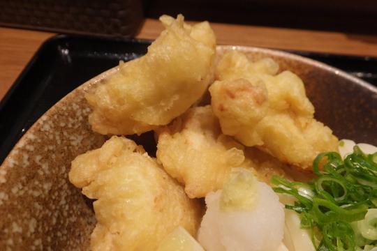 城東・緑橋 「和菜うどん 快(かい)」 大阪好っきゃ麺6 第1弾 鶏天生醤油うどん!
