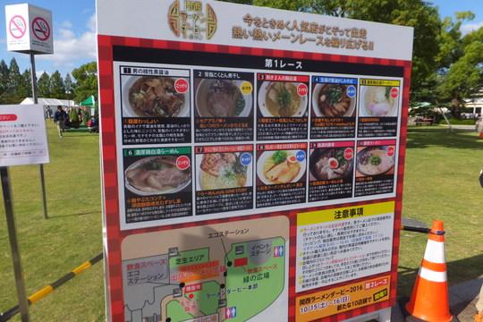 淀・京都競馬場 「関西ラーメンダービー2016」 第1レース その2!