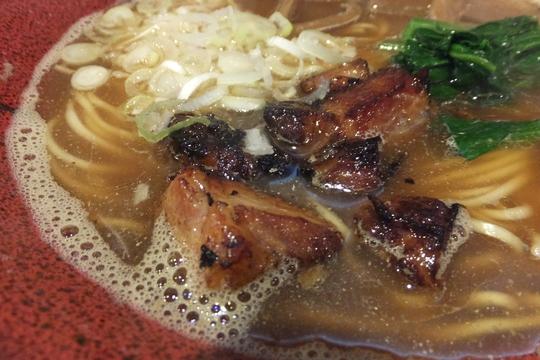 天六・レンガ通り 「群青」 煮干しがガツンと効いた雨劇がクセになりそう!