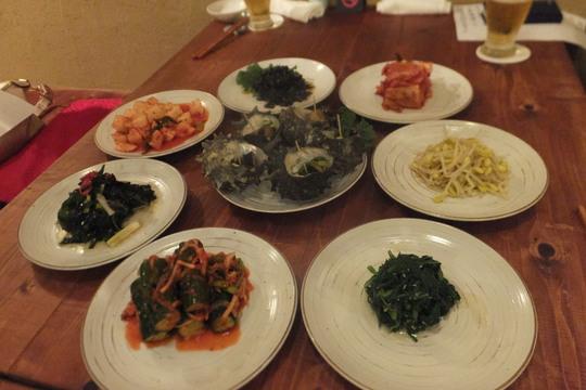 靱本町 「韓味一朴邸」 一工夫された韓国宮廷料理のコースが頂けます!が