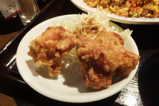 なんば 「天天酒家」 四川チャーハンと四川麻婆豆腐のお得なランチセット!