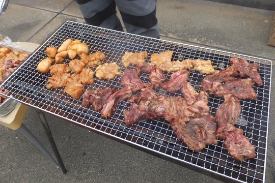西宮・今津 「居酒屋 万(ばん)本店」 屋上で塚口・悠々5周年記念BBQ大会!