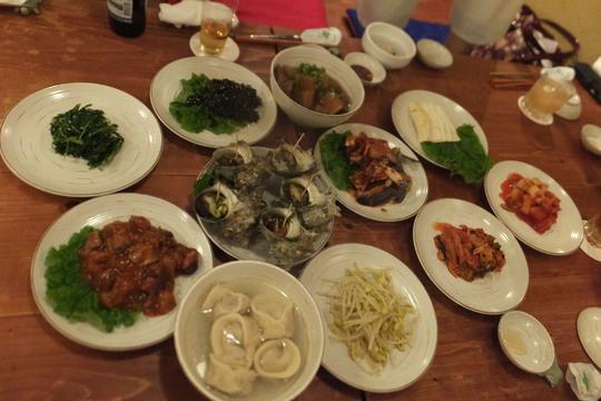 靱本町 「韓味一朴邸」 美味しさに感動して再度韓国宮廷料理を堪能させて頂きました!