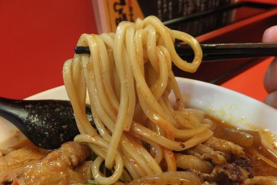日本橋・恵美須町 「ひるドラ」 大阪好っきゃ麺5 第1弾 辛口ガチ味噌肉ソバ!