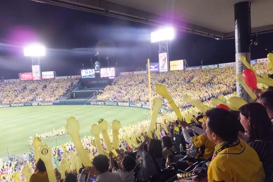 西宮・甲子園球場 「阪神 対 西武」 大差でボロボロに負けてしまいました!(泣)