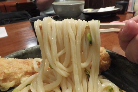 谷町六丁目・空堀 「きぬ川」 うどん巡礼5 第3弾 ちく天生醤油!