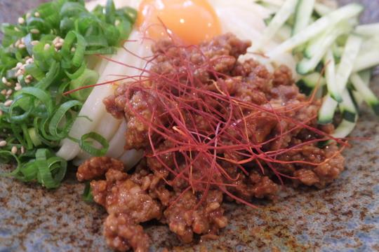 大東・野崎 「udon an(アン)」 大阪好っきゃ麺6 第4弾 ピリ辛肉味噌ぶっかけ!