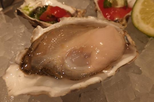 梅田・阪急32番街 「OYSTAR BAR(オイスターバー)」 北海道仙鳳趾産の肉厚プリプリ生牡蠣がメチャクチャ旨い!
