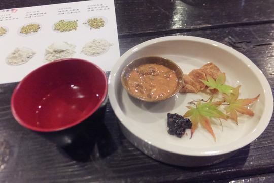 福島・ほたるまち 「土山人 ほたるまち店」 蕎麦の食べ比べをさせて頂きました!