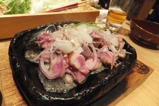 豊中・本町 「鼓道」 第3回トナカイパーティー 鴨鍋で宴会!